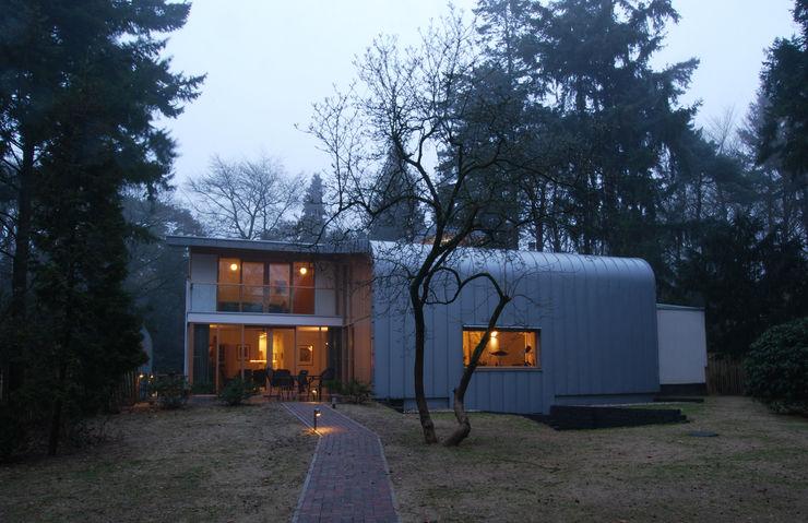 Achtergevel Thijssen Verheijden Architecture & Management Moderne huizen