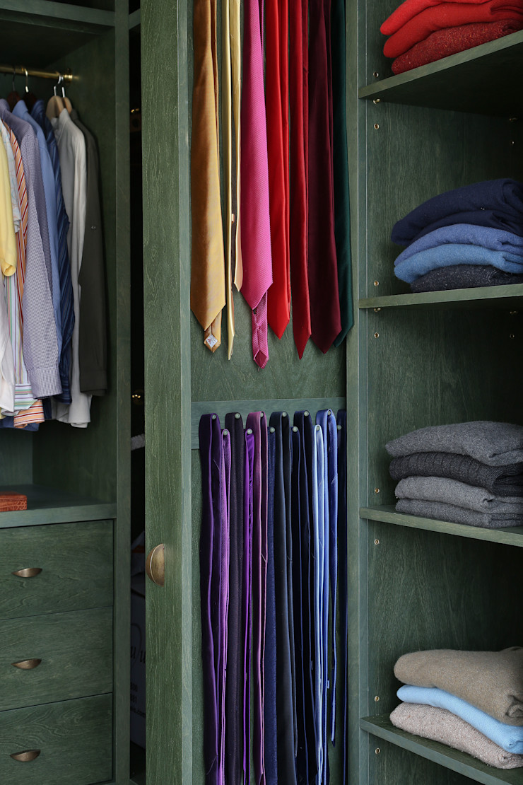 Notting Hill home Alex Maguire Photography Modern dressing room