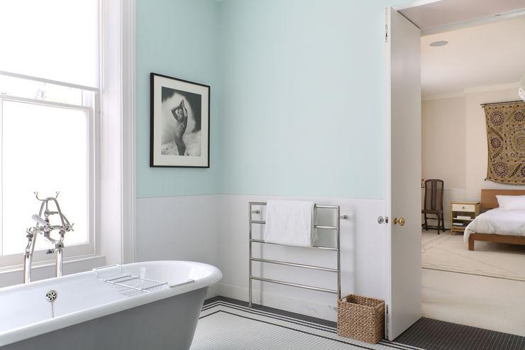 Notting Hill home Alex Maguire Photography Salle de bain minimaliste
