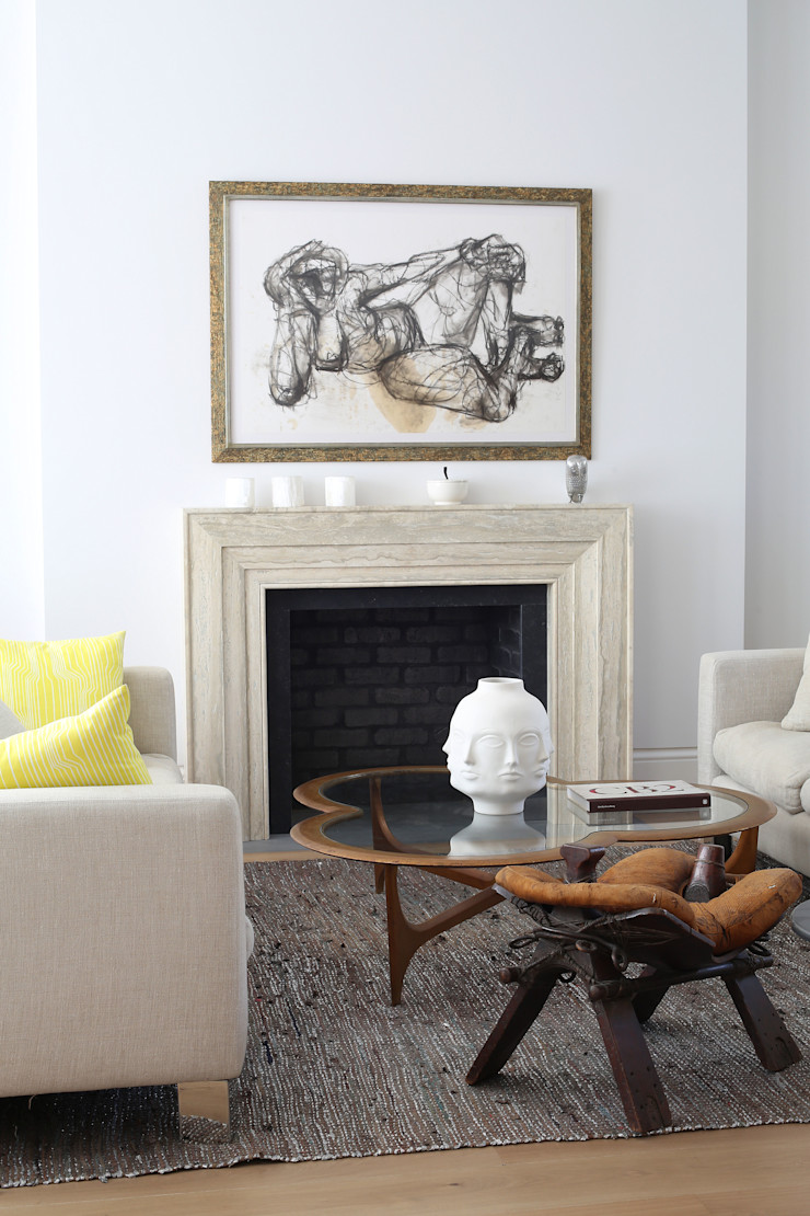 Notting Hill home Alex Maguire Photography Modern living room