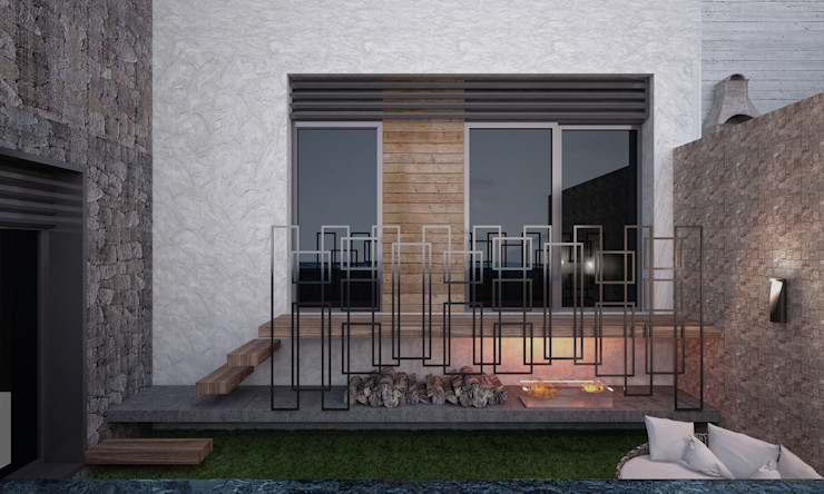 ORANIO Voltaj Tasarım Modern Bahçe