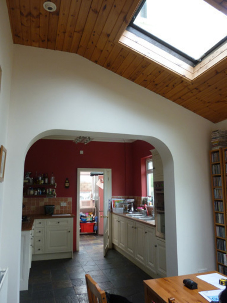 Before Shot - Dowling kitchen project, Cardiff Shaun Davies Home Solutions