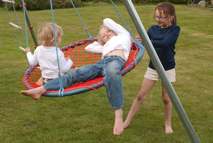 Sharing a Nest Swing Brave Toys JardínColumpios y zonas de juego