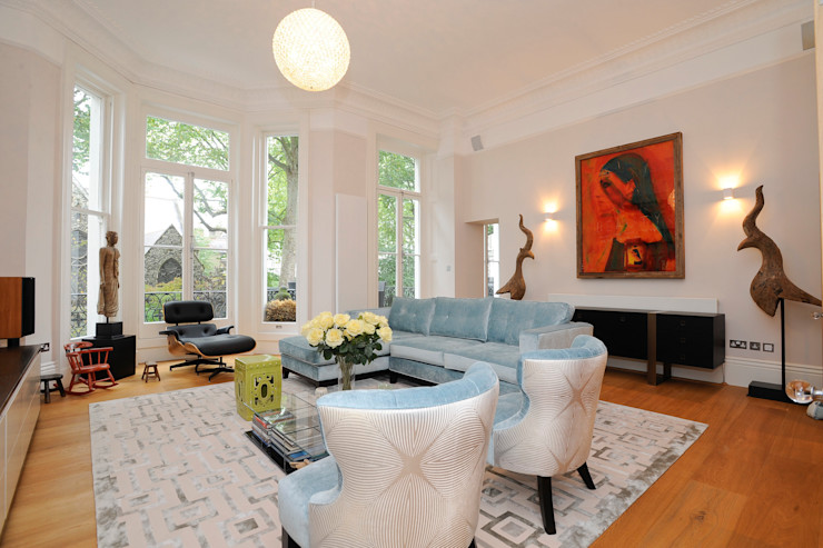Reception NSI DESIGN LTD Modern living room