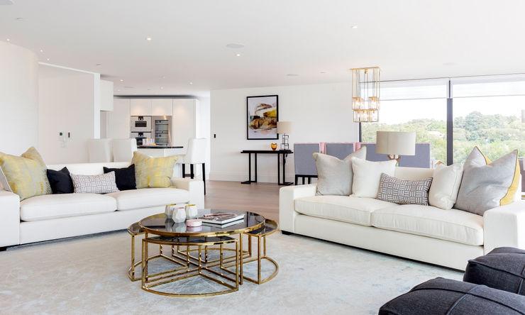 Living Room homify Modern living room