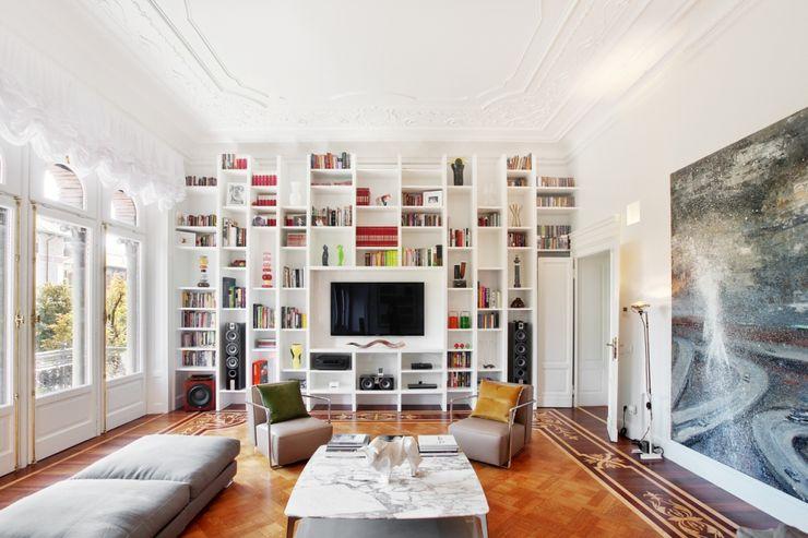 Appartamento Via Elba - Milano PADI Costruzioni srl Soggiorno classico