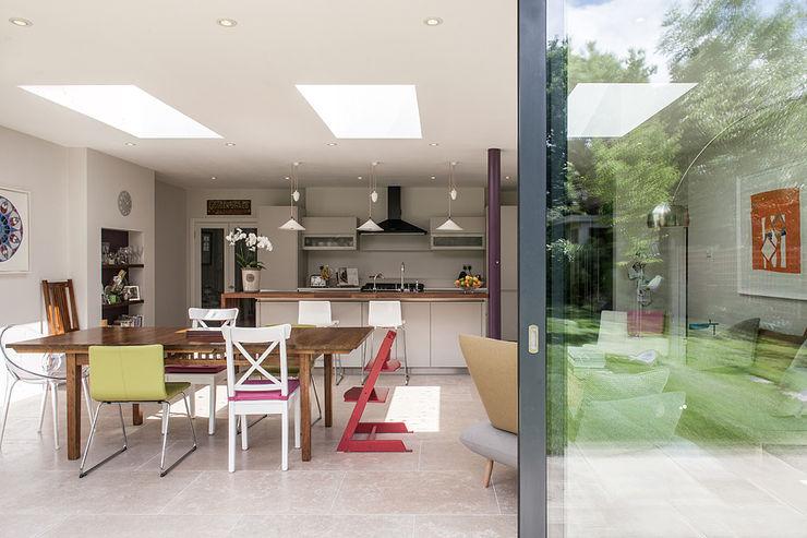 Rear Extension Nic Antony Architects Ltd Modern kitchen