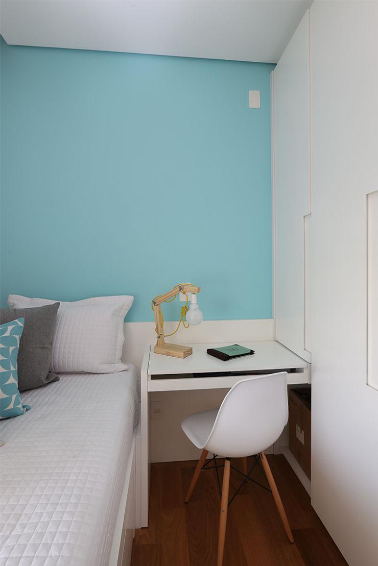 Duda Senna Arquitetura e Decoração Eclectic style bedroom