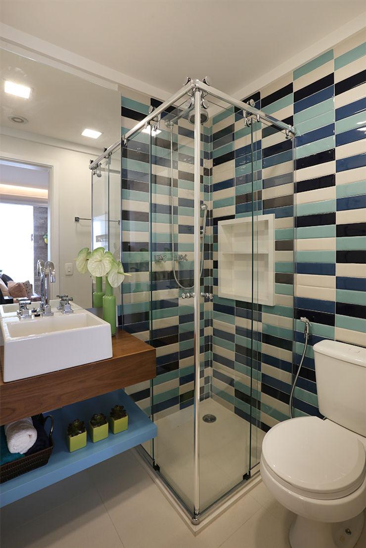 Duda Senna Arquitetura e Decoração Eclectic style bathroom