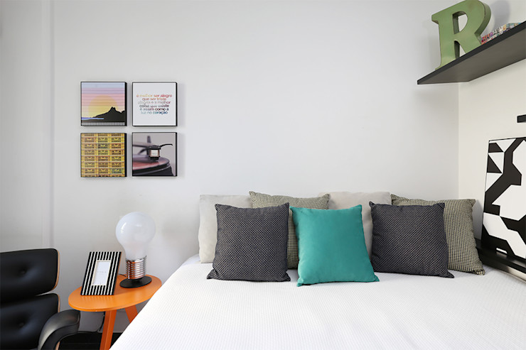 Duda Senna Arquitetura e Decoração Modern Bedroom