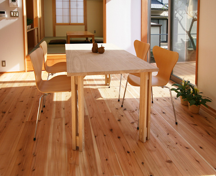 遠藤浩建築設計事務所 H,ENDOH ARCHTECT & ASSOCIATES Dining roomTables