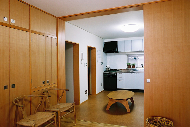遠藤浩建築設計事務所 H,ENDOH ARCHTECT & ASSOCIATES Modern Living Room
