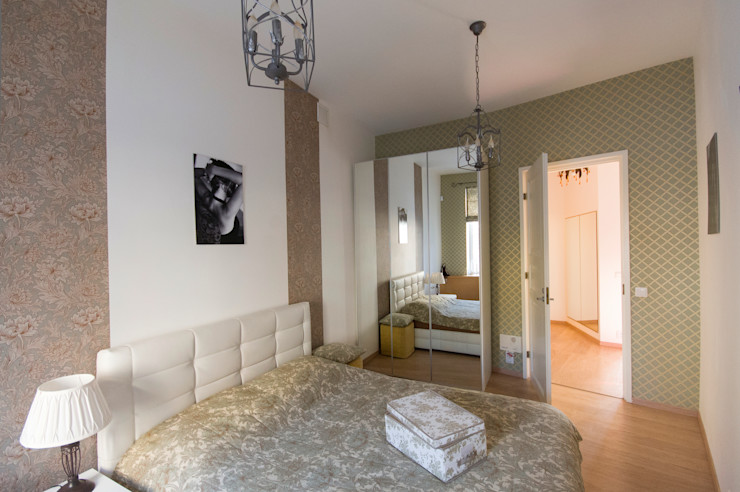 D&T Architects Спальня