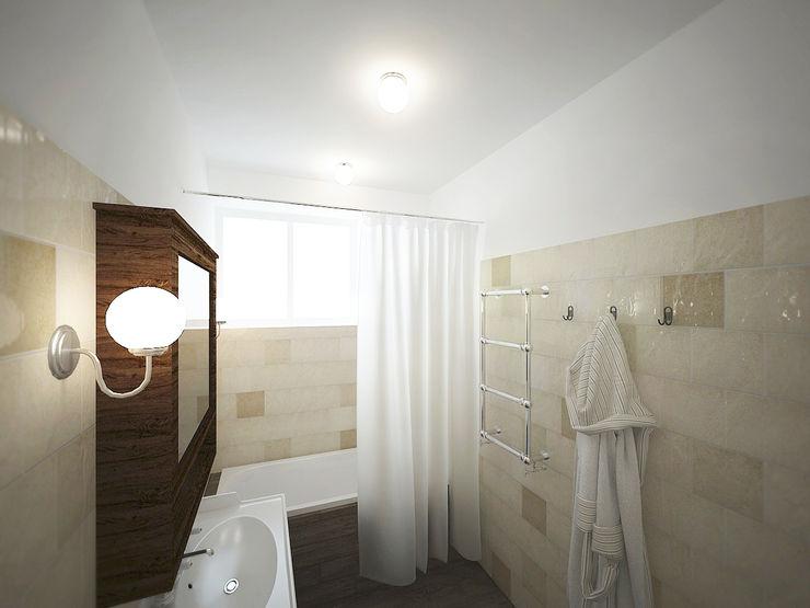 homify Rustic style bathroom