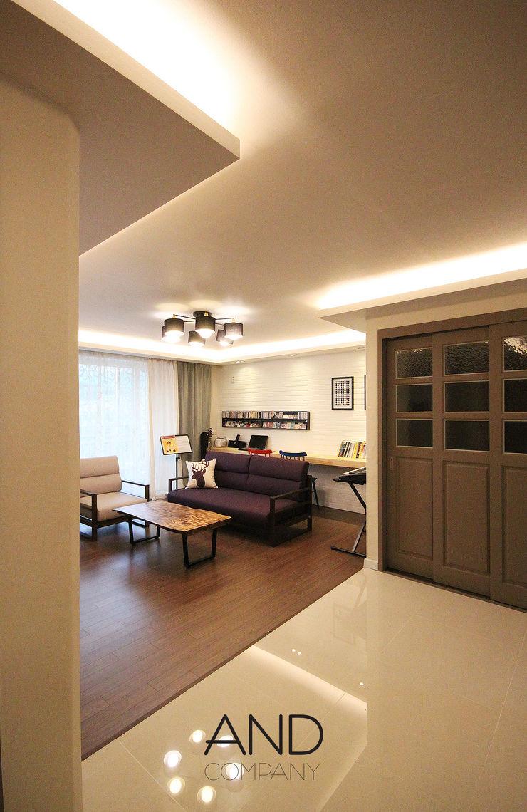 앤드컴퍼니 Modern Living Room
