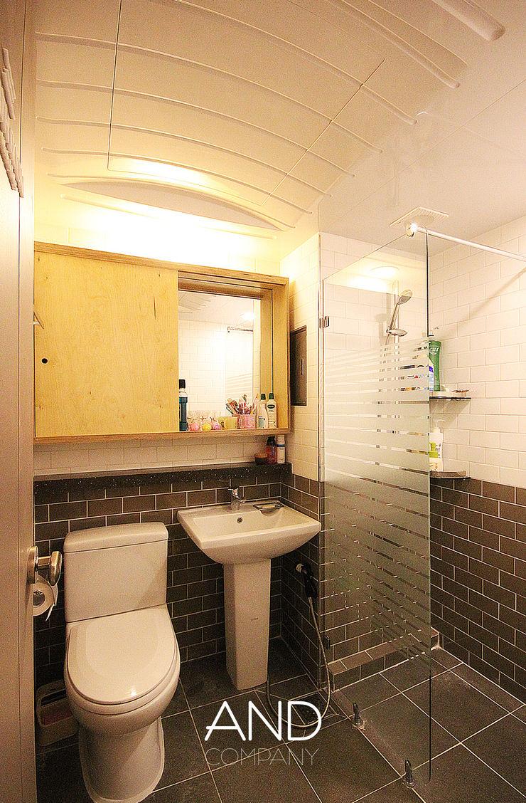 앤드컴퍼니 Modern Bathroom