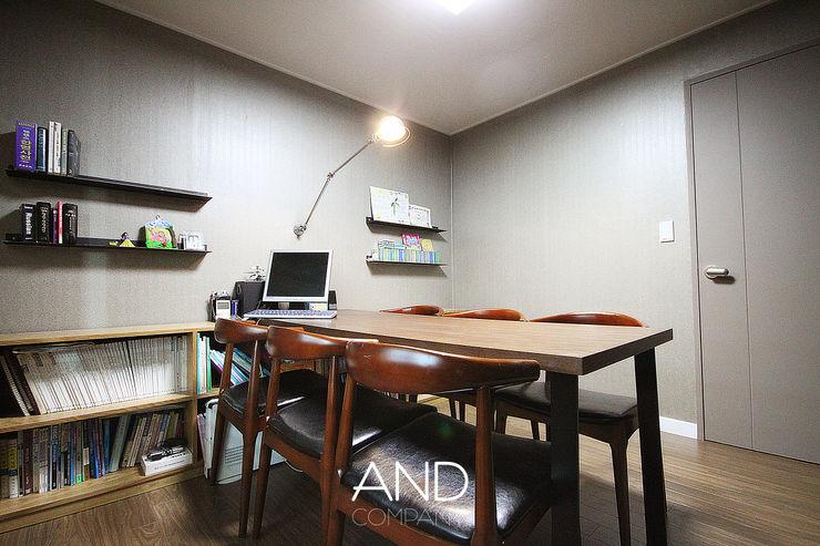 앤드컴퍼니 Modern Study Room and Home Office