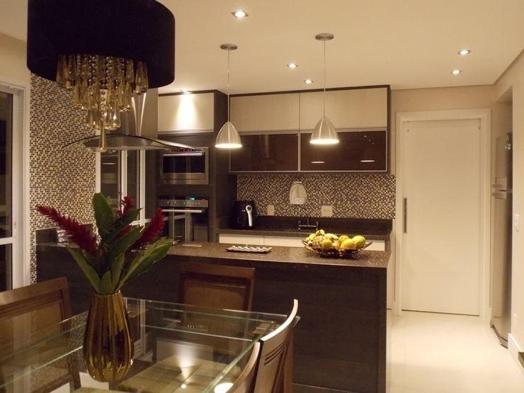 Lúcia Vale Interiores Cocinas de estilo moderno
