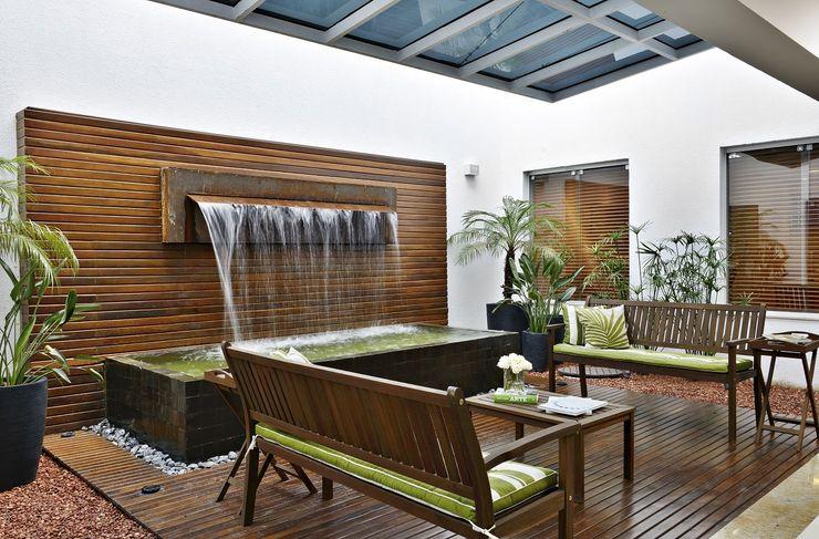Jardim Interno Jamile Lima Arquitetura Clínicas modernas
