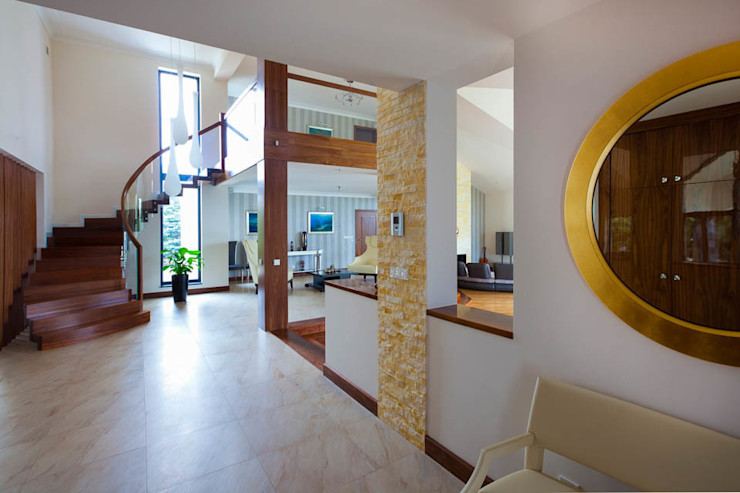 tomasz czajkowski pracownia Couloir, entrée, escaliers modernes