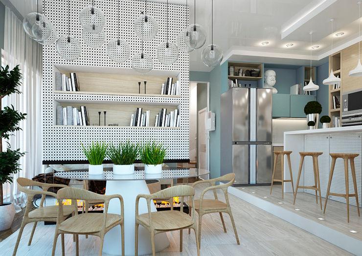 Sweet Hoome Interiors Scandinavian style kitchen