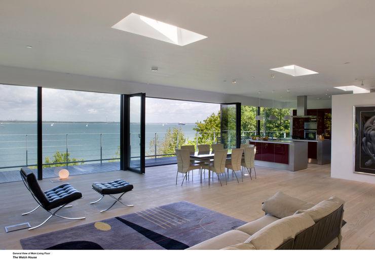 Welch House The Manser Practice Architects + Designers Salas de estilo moderno