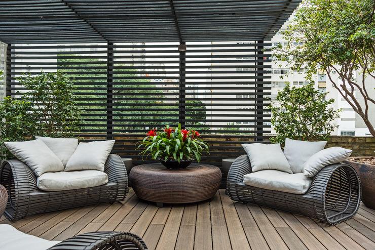 Denise Barretto Arquitetura Jardines de estilo moderno