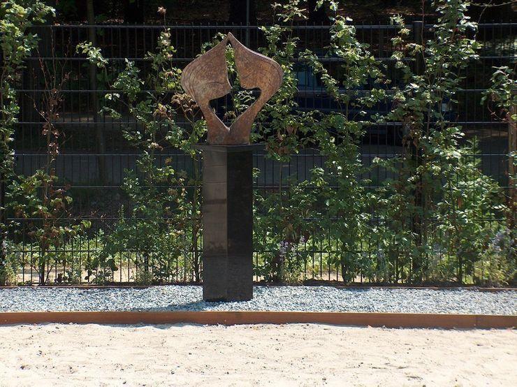 Sokkel van graniet Solits Moderne tuinen