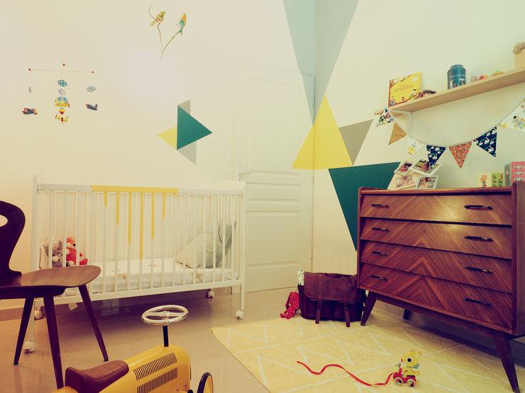 50's wood & graphic 0000 Chambre d'enfant scandinave