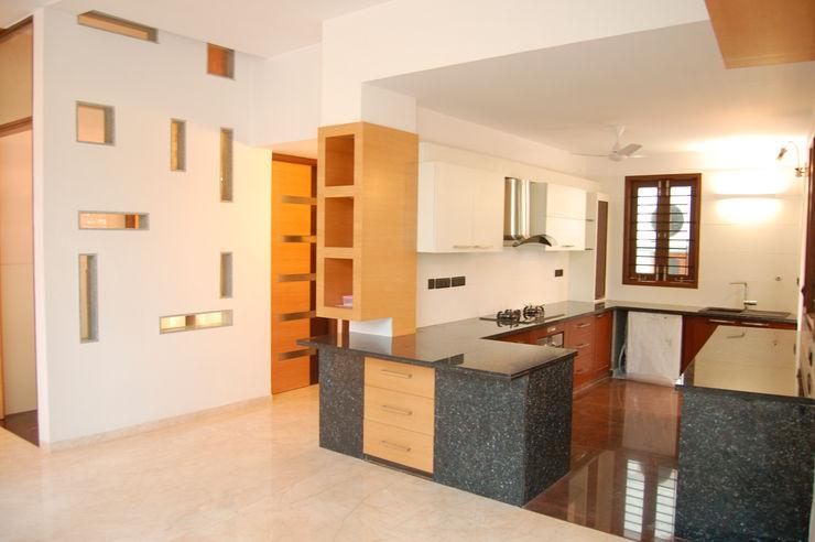 Muraliarchitects Moderne keukens