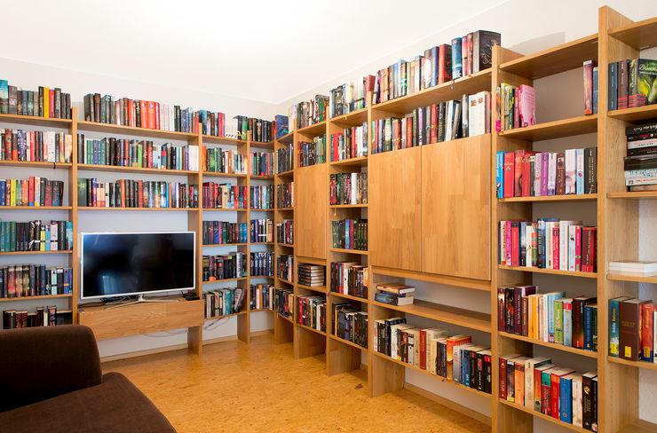 Bücherregal für Bücherwürmer! Schreinerei Haas Mathias WohnzimmerRegale