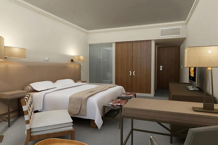Renders interiores Entretrazos Dormitorios modernos: Ideas, imágenes y decoración