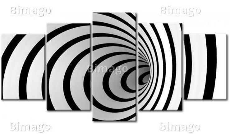 Un agujero blanco y negro BIMAGO SalasAccesorios y decoración