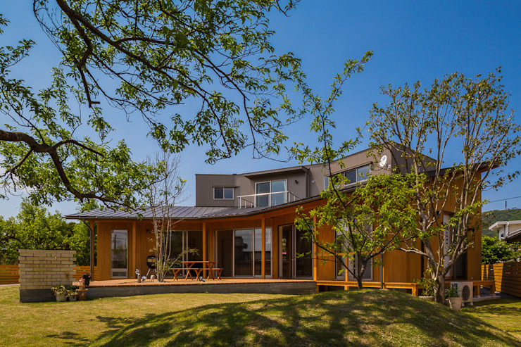 梶浦博昭環境建築設計事務所 Eclectic style houses