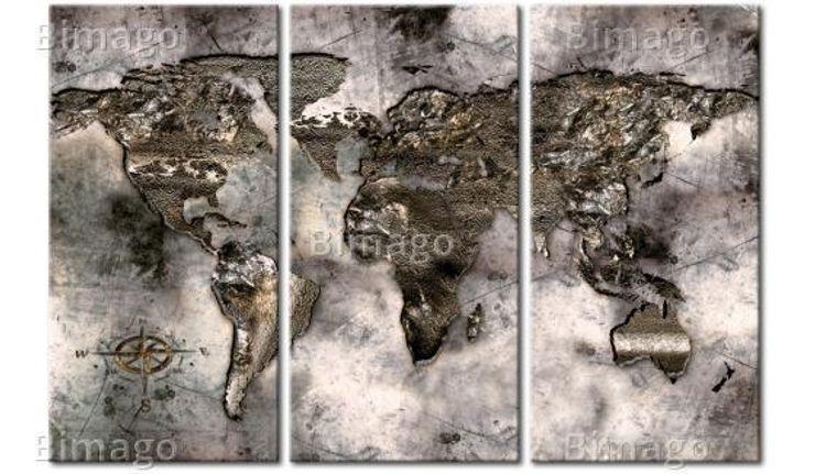 Mapa iridiscente BIMAGO SalasAccesorios y decoración