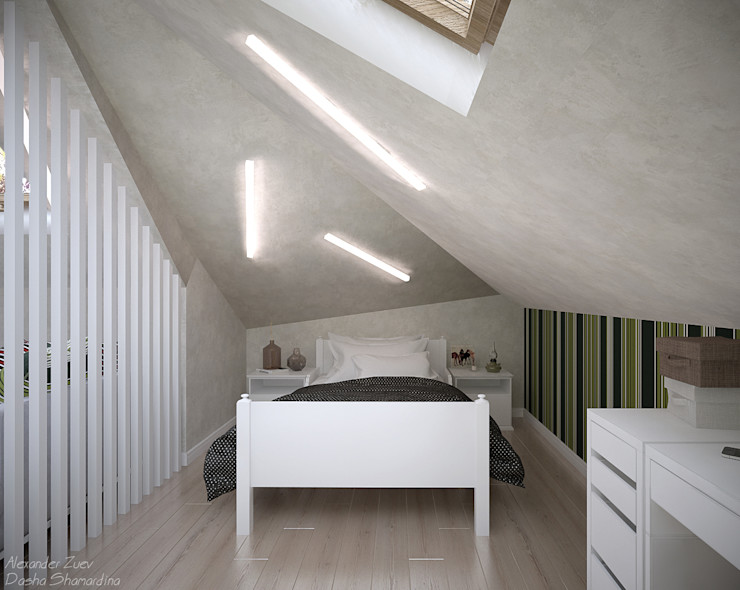 Студия интерьерного дизайна happy.design 스칸디나비아 아이방