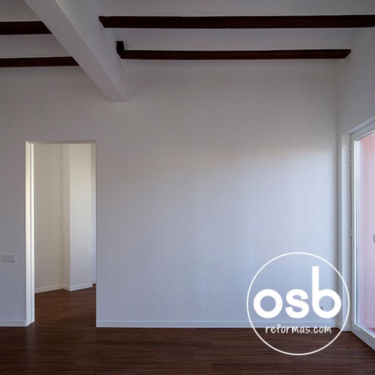 osb arquitectos Modern Living Room