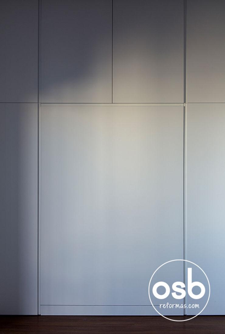 osb arquitectos BedroomBeds & headboards