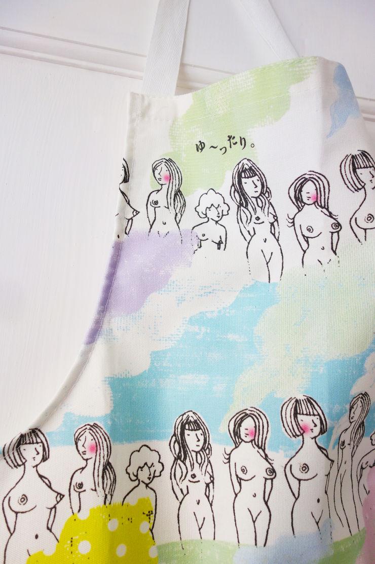 Oriental Spa - Adult Apron Sas and Yosh KitchenAccessories & textiles