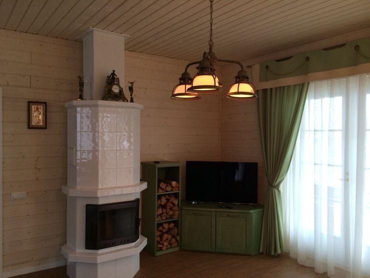Country kitchen eco green Fausti cucine arredamenti Cucina in stile rustico