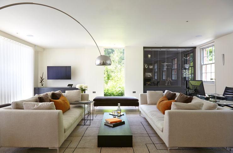 Living Room, Highwood, Berkshire Concept Interior Design & Decoration Ltd Modern Living Room