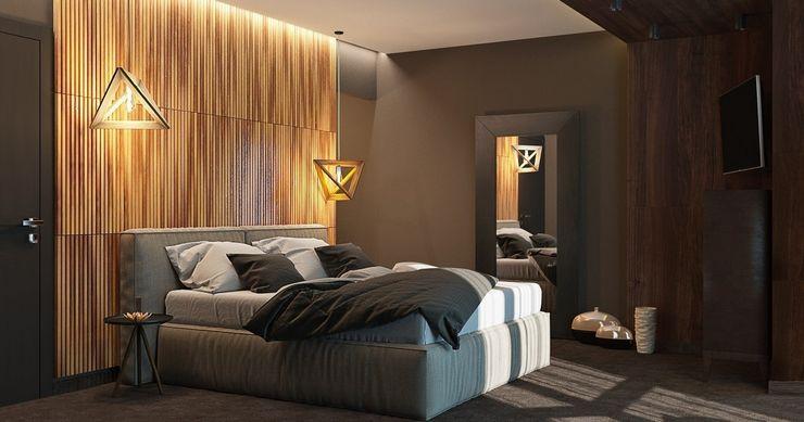 HOT WALLS Modern style bedroom