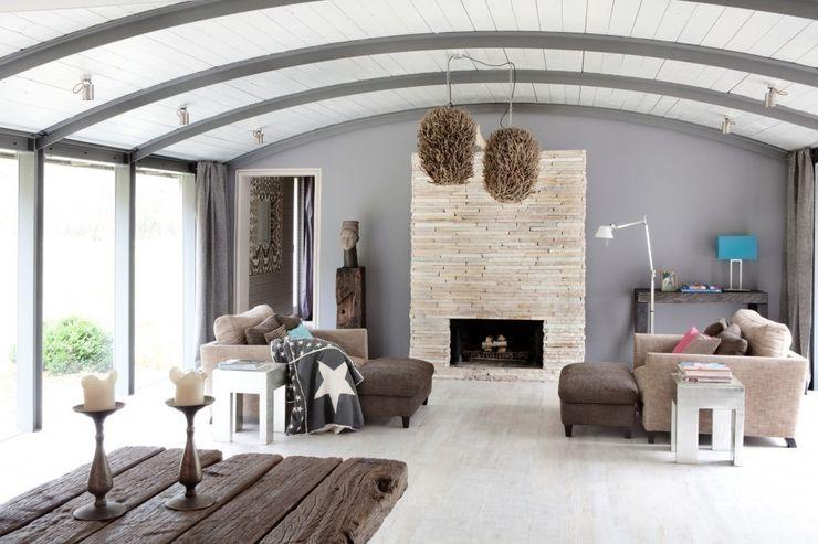 Haus Witzhave raphaeldesign Koloniale Wohnzimmer