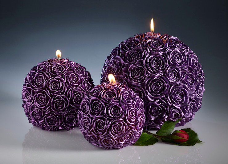 Rose Candles Amelia Candles Living roomAccessories & decoration