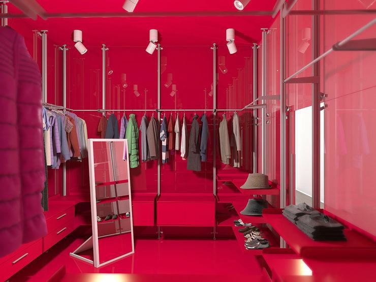 Nox Minimalist dressing room