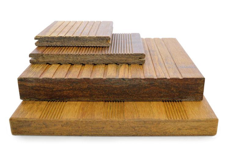 Bambus-Terrassendielen Varianten Bambuskontor