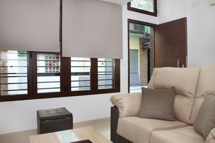 Mohedano Estudio de Arquitectura S.L.P. غرفة المعيشة