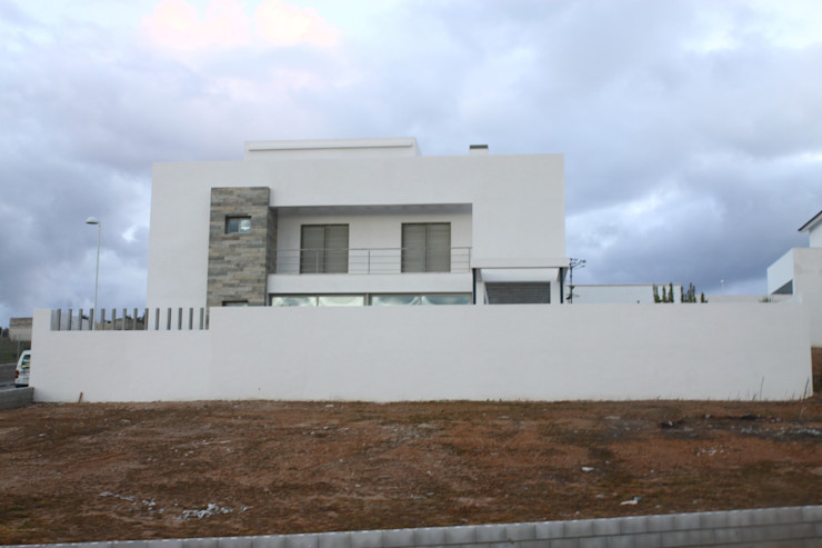 Vista general exterior Mohedano Estudio de Arquitectura S.L.P. Casas unifamilares