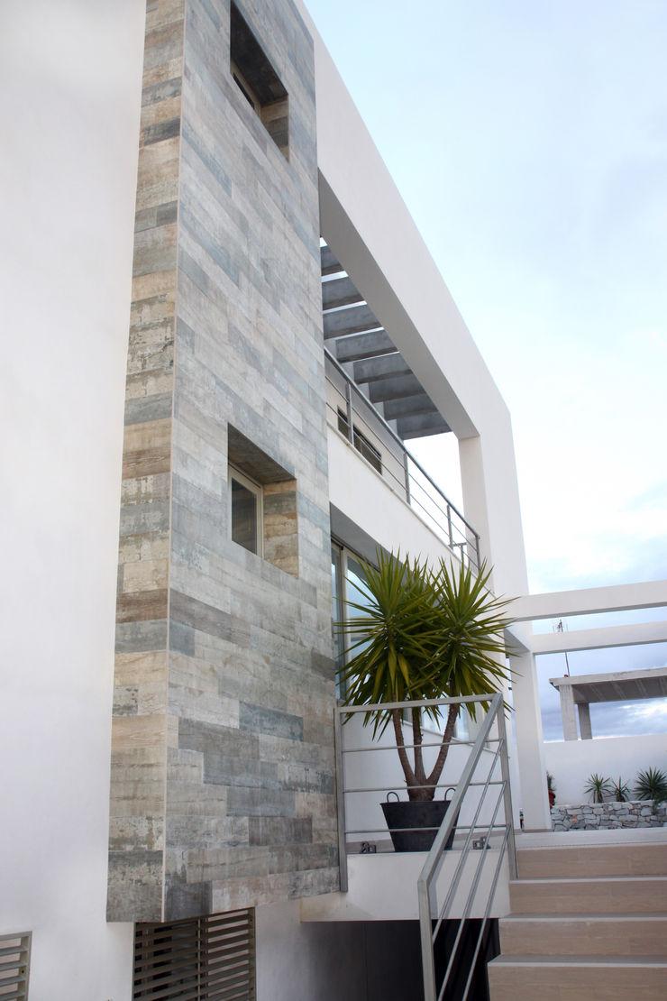 Fachada Mohedano Estudio de Arquitectura S.L.P. Casas unifamilares