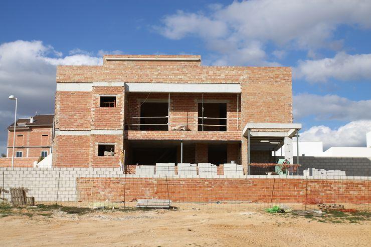 Vista fachada en ejecución Mohedano Estudio de Arquitectura S.L.P.
